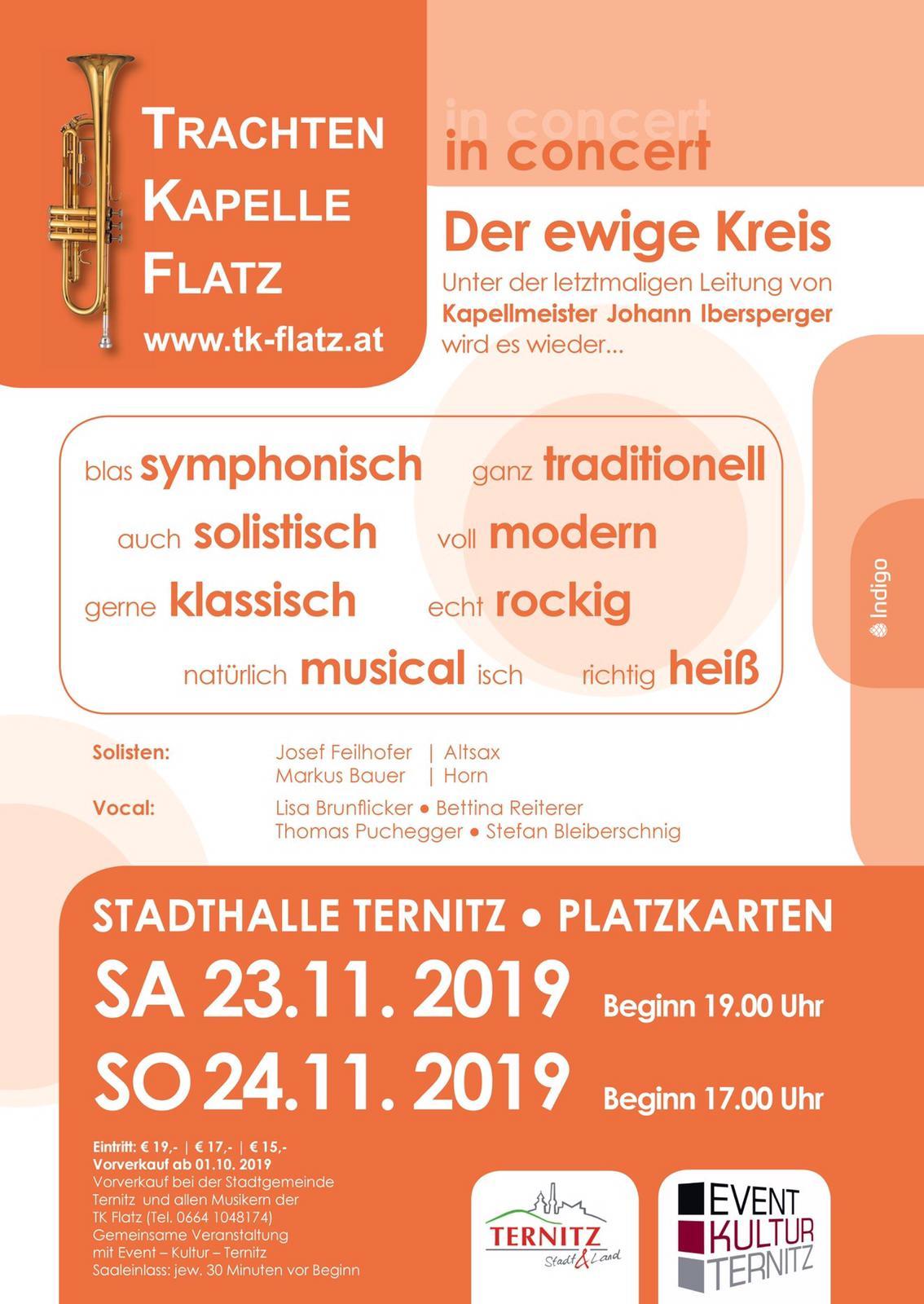 TK Flatz in Concert 2019